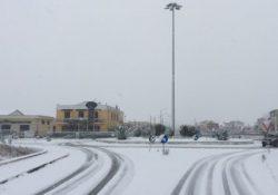 MATESE. Epifania, risveglio sotto la neve: almeno 20cm fino a bassa quota, temperature – 2°, strade ghiacciate.