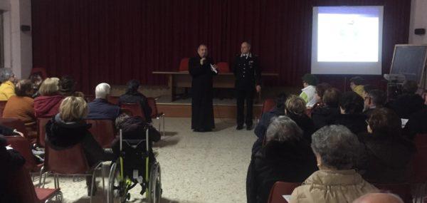 Carabinieri isernia conferenza vescovo cibotti