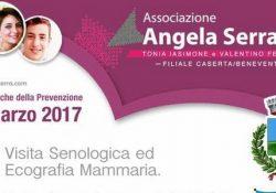 """SAN POTITO SANNITICO. """"Le Domeniche della Prevenzione"""" si tinge di rosa: il 12 marzo prossimo in città con l'Associazione Angela Serra Onlus."""