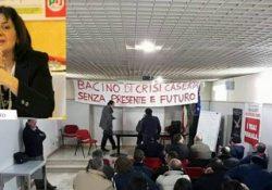 Caserta. Bacino di crisi, lavoratori e sindacati ricevuti dal sottosegretario al Welfare Biondelli: presente anche l'on. Camilla Sgambato.