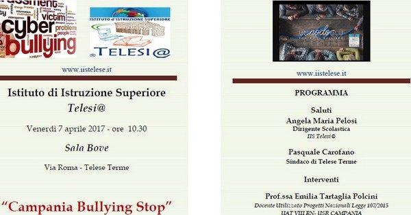 matese news | telese terme. campania bullyng stop: presentazione ... - Gazebo Unico Progetta Impresa Stecca Balaustra