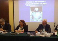 Caserta. Il Rotary Club Caserta Luigi Vanvitelli incontra il nipote dell'eroe Nazario Sauro.