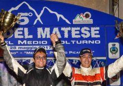 SAN POTITO SANNITICO. Rally del Matese 2017, a trionfare è la squadra della Sardegna col pilota Maurizio Diomedi e il navigatore Fabio Salis.