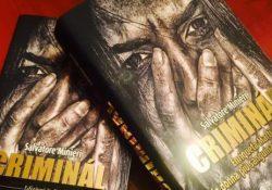 """PIGNATARO MAGGIORE. Successo per l'ultimo libro dello scrittore pignatarese Salvatore Minieri """"Criminal"""": la presentazione domenica 17 settembre."""