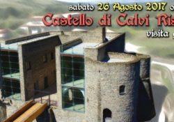 CALVI RISORTA. Visita guidata al Castello, numerosissimi i partecipanti all'iniziativa a cura Rete ArcheoCales.