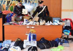 Isernia / Provincia. Maxi sequestro di merce contraffatta, scoperto laboratorio clandestino: due persone denunciate.