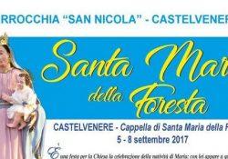 Castelvenere. La Comunità castelvenerese è pronta per i Festeggiamenti in onore della Madonna della Foresta.