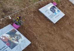 """Carpinone. Inaugurato il """"Boschetto"""", il cimitero degli animali: il riposo dopo la dipartita dei fedeli quattrozampe."""
