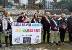 """AILANO. La Fiaccola della Pace torna in città per celebrare la III edizione e per rinnovare il """"Patto di Pace""""."""