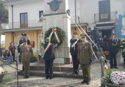 ALVIGNANO. Commemorazione dei caduti di tutte le guerre e delle Forza Armate: l'evento in città col Sindaco Marcucci e tutta l'amministrazione comunale, autorità militari e religiose.
