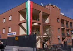 MIGNANO MONTELUNGO. Cerimonia, stamane, di inaugurazione della nuova Caserma Carabinieri, intitolata all'Appuntato Scelto, Medaglio d'oro, Tiziano Della Ratta.