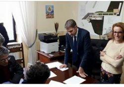 PIGNATARO MAGGIORE. Pastificio Pallante, il sindaco Magliocca annuncia la firma della convenzione: