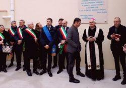 SAN POTITO SANNITICO. Tra inno nazionale e inno a San Potito ufficialmente inaugurato il Polo Scolastico di località Beneficio.
