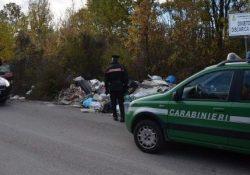 Carpinone / Isernia / Provincia. Vasta operazione dei Carabinieri a tutela dell'ambiente: 5 denunce, una discarica abusiva sequestrata e 15 notifiche per la bonifica di depositi incontrollati di rifiuti.