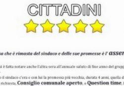 """BELLONA. Cittadini 5 Stelle: """"L'unica cosa che è rimasta del sindaco e delle sue promesse è l'assenza""""."""