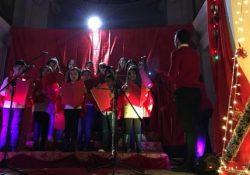 ROCCAROMANA. Medley di canzoni natalizie, di pace e gioia: nella Chiesa dell'Annunziata a cura del coro dei bambini.