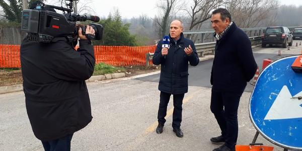 Ponte Margherita, arrivano le telecamere RAI: prossima riapertura a due corsie?