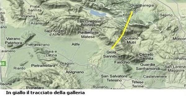 Il nuovo ponte di Genova è costato 202 milioni, la galleria del Matese costerebbe solo 20 in più, ma…