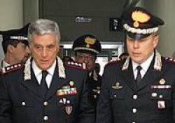 """Caserta / Provincia. Il Comandante Interregionale """"Ogaden"""" in visita ai Carabinieri di Caserta."""