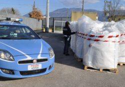 San Salvatore Telesino. Granuli in Pvc rubati al porto di Ancona ritrovati in un'azienda del posto: denunciato un imprenditore.