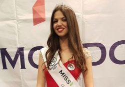Montesarchio. Miss Mondo Campania 2018 è Erika Lamberti: 17 anni, alta 1,82, taglia 40, studentessa liceale a Pontecagnano.