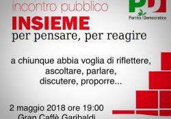 S. Maria C.V. Pd, convocata per domani la base del partito in un incontro cittadino in Piazza Bovio.