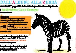 CAIAZZO. Il fantasiologo Carrese presenta la seconda edizione di Dall'Albero alla Zebra: laboratorio fantasiologico per docenti con pranzo offerto dalla tenuta San Bartolomeo Casa in Campagna.