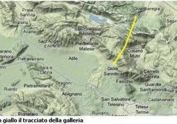 PIEDIMONTE MATESE / GIOIA SANNITICA / GUARDIAREGIA. La galleria Interregionale del Matese: l'opera di 12 km tra il Molise e la Campania.