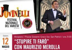 ALVIGNANO / CASTEL CAMPAGNANO. Festival Jovinelli dedidato a Totò, sabato 12 maggio sui palchi gli spettacoli dei maestri Maurizio Merolla e Franco Mantovanelli.