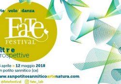 SAN POTITO SANNITICO. La XIV edizione del Fate Festival, rinomata kermesse di arte e natura: in città fino al prossimo 21 maggio.