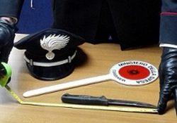 Venafro. Controlli dei Carabinieri, scattano denunce e sequestri: 60enne abruzzese aveva in auto un coltello vietato.