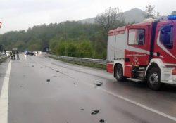 Sessano del Molise / Valle del Trigno. Incidente lunga la statale 650: due le auto coinvolte ed un ferito.