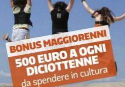 """Caserta/ Provincia. Bonus di 500 euro per i 18enni, Sgambato dice no all'abolizione e rilancia: """"Il contributo non va eliminato, ma modificato collegandolo all'Isee""""."""