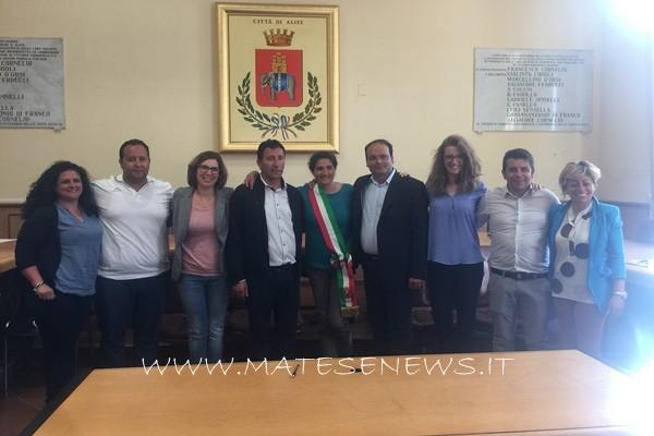 La proclamazione del nuovo Sindaco della città, Maria Luisa Di Tommaso. I VIDEO