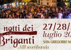 """SAN GREGORIO MATESE. Riprende domani l'evento """"Le notti dei briganti"""": mercatino dei prodotti ed artigianato locale, convegni, scorribande…"""