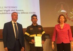 Isernia / Roma. Presso il Dipartimento della Protezione Civile a Roma la cerimonia di conferimento degli attestati di pubblica benemerenza.