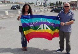 """ALIFE / ORTA DI ATELLA. Terra Dei Fuochi: """"Noi Genitori di tutti"""" dona pasta a favore del progetto di solidarietà del Movimento per la Pace."""