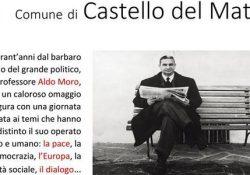 CASTELLO DEL MATESE. Aldo Moro a 40 anni dal barbaro assassinio del politico, giurista e professore: l'omaggio della cittadina.