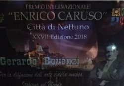 PIGNATARO MAGGIORE / MARINA DI NETTUNO. Alla XXVII edizione del Premio Enrico Caruso premiato il tenore Gerardo Bovenzi.