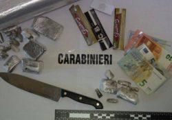 Venafro / Castel San Vincenzo. Controlli antidroga, denunciati quattro giovani per detenzione illegale di stupefacenti e porto abusivo di armi.