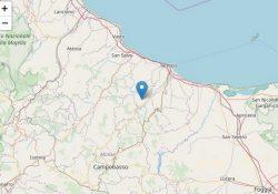 TERREMOTO / MOLISE. Almeno 3 gli eventi sismici registrati nella notte nel Molise ed avvertiti anche in Campania: l'ultimo alle ore 8:48 di stamane.