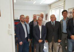 PIEDIMONTE MATESE / PRESENZANO. Una delegazione di dirigenti serbi in visita al Consorzio di Bonifica del Sannio Alifano.