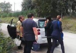 Ceppaloni. Incidente stradale lungo la Fondovalle Sabato: coinvolta la senatrice Sandra Lonardo Mastella.
