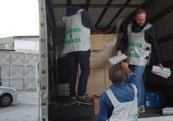 Caserta / Provincia. Intercettati 2 carichi di sigarette provenienti dalla Romania: sequestrate 8.200 stecche di contrabbando, peso 160 quintali da oltre 400mila euro.