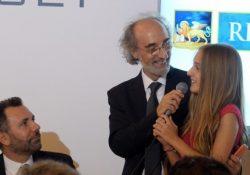 """Telese Terme. Violante Bentivoglio Malatesta ha il volto di Francesca Amodio, già interprete nel film Premio Oscar """"La Grande Bellezza"""" di Paolo Sorrentino."""