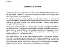 PASTORANO. Lavori pubblici finanziati dalla Regione Campania per 311mila euro: la richiesta di incontro pubblico con l'amministrazione comunale dal locale circolo di Forza Italia.