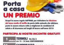 Isernia / Provincia. Porta a casa un premio: un'opportunità per le aziende per ridurre i costi assicurativi.