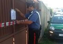 """Caserta / Provincia. """"Lo Uttaro"""", i Carabinieri Forestali sequestrano un'area adibita a stoccaggio non autorizzato di rifiuti speciali non pericolosi."""