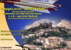 """VAIRANO PATENORA. Tutto pronto per la 7° edizione del Torneo Arcieristico """"Castrum Vairani""""."""