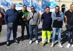 """Cellole. Cantiere Igiene urbana, sit in al comune, Guarino (Ugl): """"accordo tra comune e lavoratori, scongiurato interruzione servizio: CITE fuori e pagamenti immediati""""."""